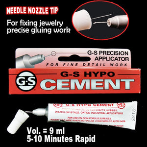 9ml G-s Hypo Cement Precision Applicator Adhesive Glue For Gluing Fix Jewelry Crafts Crystal Rhinestone Multi Purpose Clear Gel