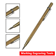 Very Cheap ! 1pc Steel Tip Scriber Pen Marking Engraving Tool.