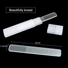 Load image into Gallery viewer, Nano Glass Nail File Professional Durable Nail Buffer