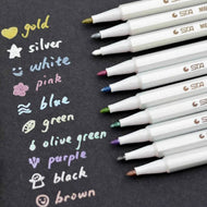 Fine Point 1mm Waterproof Permanent Paint Markers