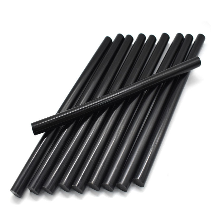 7mm/11mm Black Hot Melt Glue Sticks For Electric Glue Gun Craft Album Alloy Accessories Car Dent Paintless Removal Hand 5pcs