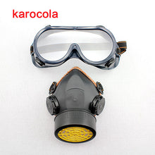 Load image into Gallery viewer, Respirator Mask with Goggles