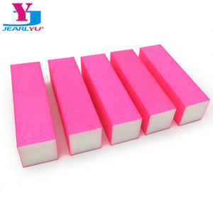 5pcs Pink Buffing Blocks