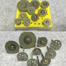Load image into Gallery viewer, 10pcs/set Diamond Cutting Discs Cut-off Wheel Set For Dremel Rotary Tool