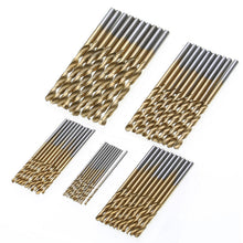 Load image into Gallery viewer, 50Pcs HSS Micro Bits Metal Wood Plastic Aluminum High Speed Steel