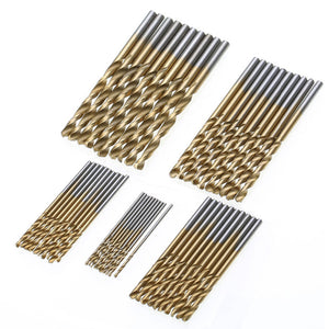 50Pcs HSS Micro Bits Metal Wood Plastic Aluminum High Speed Steel