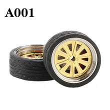 Load image into Gallery viewer, 1:64 Custom Wheel w/ Rubber Tire Sets *38 Options!