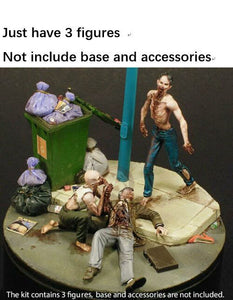1/35 Night of the Zombies Diorama Kit (3 Unpainted Figures Only)