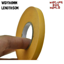 Load image into Gallery viewer, Yellow Mask Tape 50M - Paint Special  Model Special Masking Tape 8-50mm Model Hobby Painting Tools Accessory