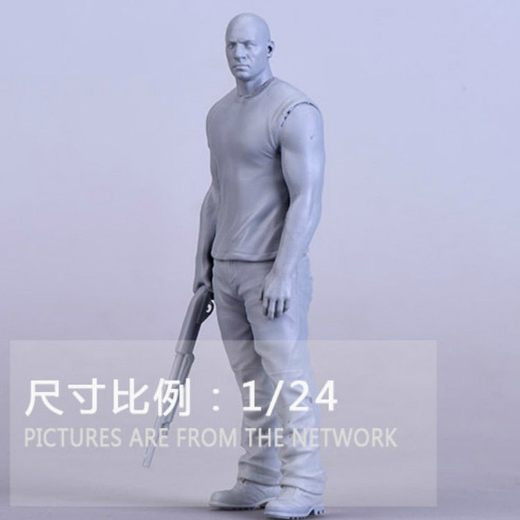 1/24 Diesel Resin Figure