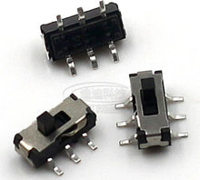 Load image into Gallery viewer, 10pcs MINI Miniature Slide Switch 6Pin for DIY Electronic Accessories