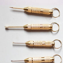 Load image into Gallery viewer, 1 Set 4in1 Mini Steel Golden Pick.