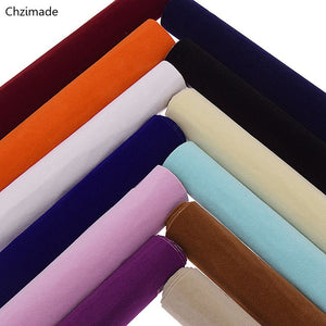 "8.27"" × 11.69""  Self Adhesive Velvet Fabric Flocking Sheets.  Perfect for carpet. 12 Color Options"
