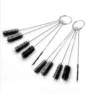 5pcs/Set Airbrush Cleaning Brush Stainless Steel