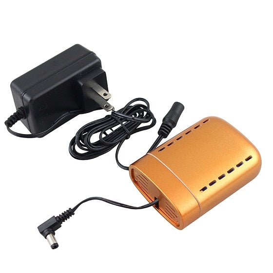 Portable Mini Air Compressor Battery Rechargeable With Power Charger Airbrush Compressor Accessories