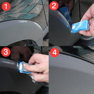 Generic Car Body Compound Scratch Repair Wax Paint Scar Remover Paste With Sponge Brush Auto Accessories Car Scratch Repair Tool