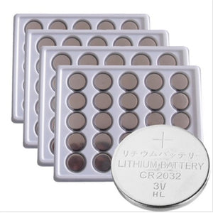 50pcs/Lot ,CR2032 3V Cell Battery Button Battery  ,Coin Battery,cr 2032 lithium battery For Watches,clocks, calculators