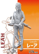 1/24 75MM soldier of Leah STAND modern  Resin Model Miniature gk Unassembly Unpainted