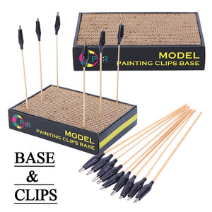 Model Painting Clip & Stand Set. Free U.S. Shipping.