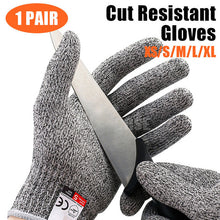 Load image into Gallery viewer, Stab Resistant Gloves Finger Protectors Level 5 Protection