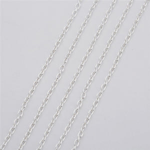 Chain for steering wheels, bridges and diorama 5m/lot Width 2 2.5 3 mm
