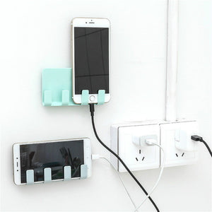 Wall Mount Cup with Phone Hook. Click for more variants