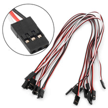 Load image into Gallery viewer, 10pcs 50mm-300mm Male To Male Quadcopter Extension Servo Cables RC