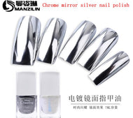 7ML Chrome Nail Polish Base & Topcoat