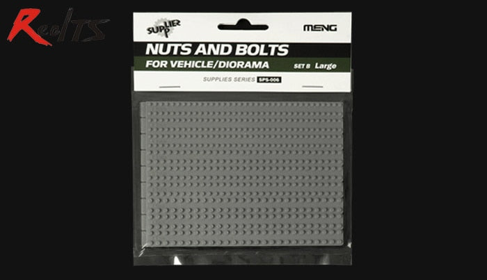 RealTS MENG MODEL 1/35 SCALE military models #SPS-006 NUTS AND BOLTS FOR VEHICLE/DIORAMA