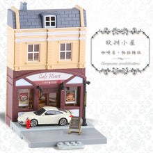 Load image into Gallery viewer, High Simulation 1:64 RMZ city Diorama Education Model Building Kits Toy DIY European house Diecast Metal Cars for children gifts