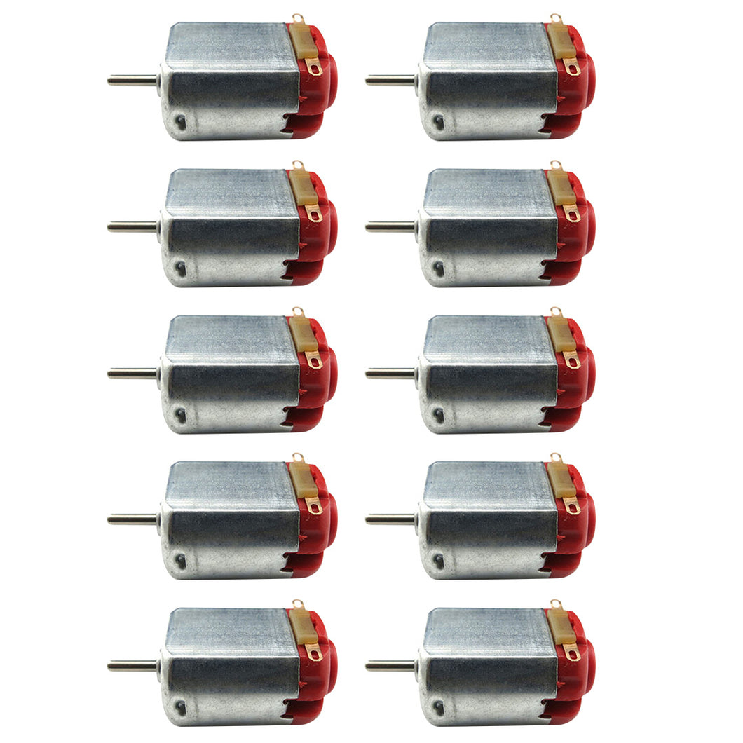 5 or 10 pc set of  Micro 130 Four Drive DC Motors