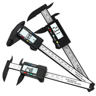 Digital Carbon Fiber Calipers: Micrometer Measuring Tool
