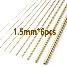Load image into Gallery viewer, Modelbouw Model Modified Copper Tube 0.3mm-1.5mm Modeling Accessories Gundam Tanks Firearms Tool Hobby Craft Tools Accessory