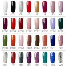 Load image into Gallery viewer, Nail Polish: 72 options. Great airbrush colors. See the tutorial video.