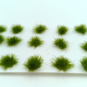 50pcs/lot architecture model grass in ho train layout building kits toy or hobby makers diorama