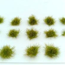 Load image into Gallery viewer, 50pcs/lot architecture model grass in ho train layout building kits toy or hobby makers diorama
