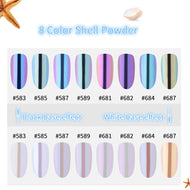 1 Box Pearl Chameleon Pearl Pigment Dust: Marketed towards nails, but perfect low cost alternative.