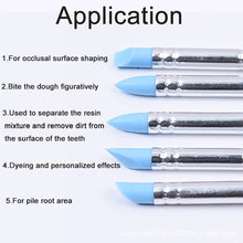 Load image into Gallery viewer, 5Pcs Sculpting Pottery Engraving Clay Tools Pen Nail Art Craft Shaper Modelling Soft Silicone
