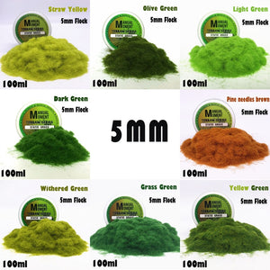 Miniature Scene Model Turf Flock Lawn Nylon Grass Powder STATIC GRASS Hobby Terrain Series  Material