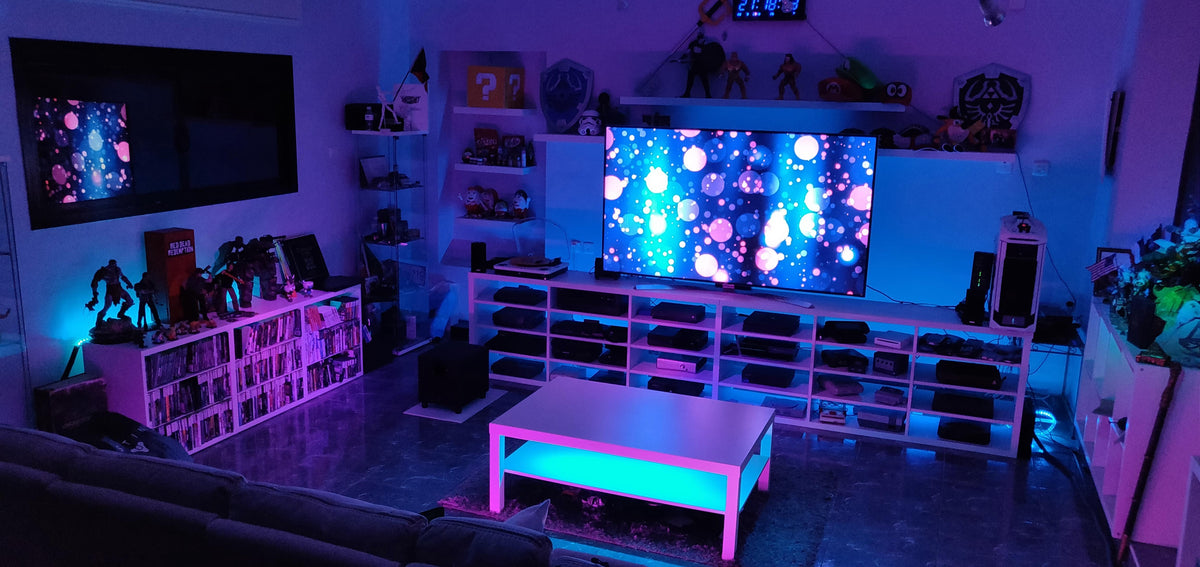 Brighten Up Your Gaming Room With Led Lights The Wave Lights