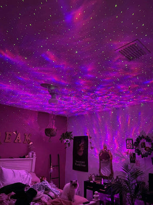 The Wave Lights Starry Night Projector
