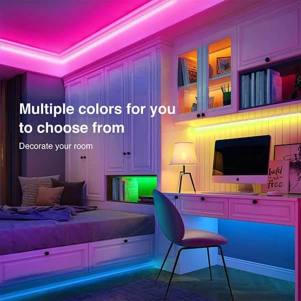 Wave Lights LED Light Strips 16.4ft WiFi Bundle - BUNDLE & SAVE