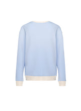 Load image into Gallery viewer, Café Crewneck  - Pastel Blue - loungewear  pyjamas aleur