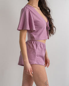 Hemp Shorties - loungewear  pyjamas aleur