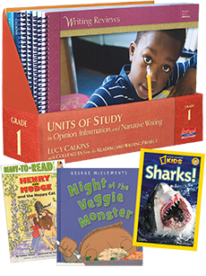 Units of Study, Writing Grades K-5 Trade Pack
