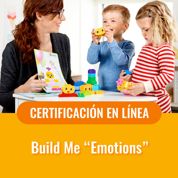 "Learning through play with Build Me ""Emotions"""