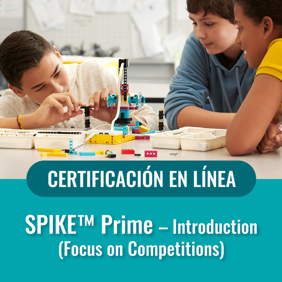 SPIKE Prime. Introduction: Focus Competitions