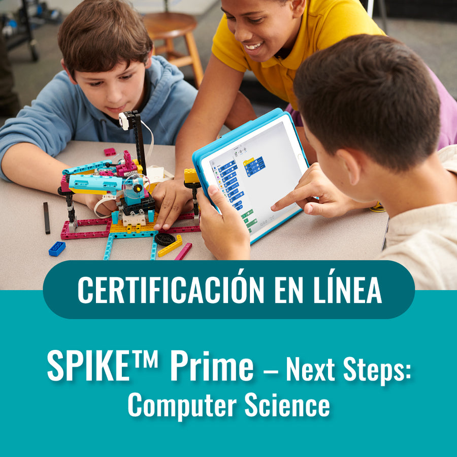 SPIKE Prime. Next Steps: Computer Science - Compra