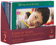 Units of Study, Writing Grades K-5