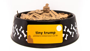 Variant showing a set of either 240 or 480 tiny trumps in a dog bowl